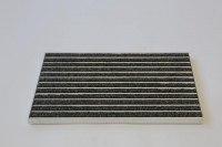 Hochwertige CleanRips Fußmatte in Schwarz