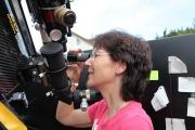 Unsere Kunden beim Sonneflecken schauen am 17.9.2011
