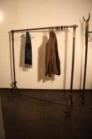 rollbare Garderobe in Meyers Hof im Zoo Hannover