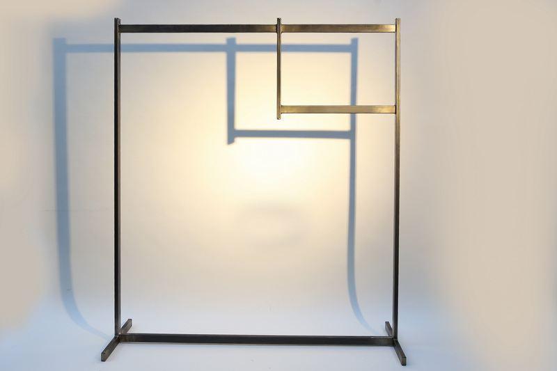 garderobe aus stahl. Black Bedroom Furniture Sets. Home Design Ideas