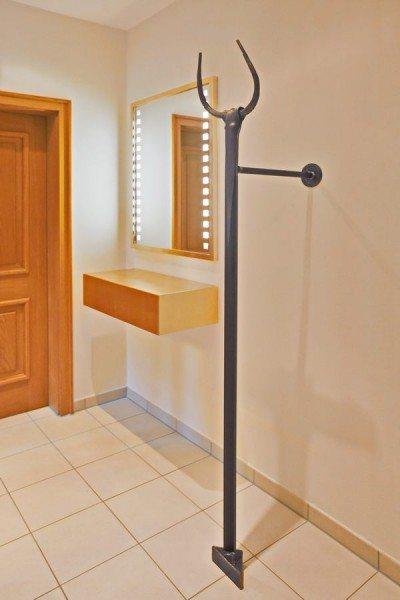 geschmiedete garderobe. Black Bedroom Furniture Sets. Home Design Ideas