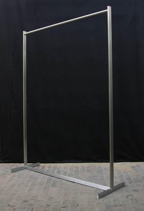 Edelstahl garderobe for Garderobe breite