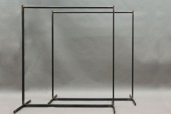 Garderobe aus Stahl geschweißt