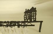 Gardinenstangen, Vorhangstangen, Gardinenhalter, Windfangstangen und Gardinenleisten