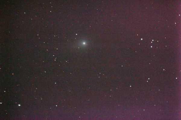 Komet Garradd C 2009 P1, Am Samstag, den 3.9.11 haben wir zum ersten Mal einen Kometen durch unser Teleskop gesichtet