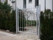 Gartentor aus feuerverzinktem Stahl