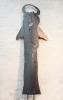 Engel,  Gartenskulptur aus 3 mm Stahlblech ausgetrennt