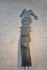 Gartenskulptur aus 3 mm Stahlblech augetrennt
