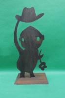 Plasmagetrennte Skulptur nach einem Entwurf unseres Kunden