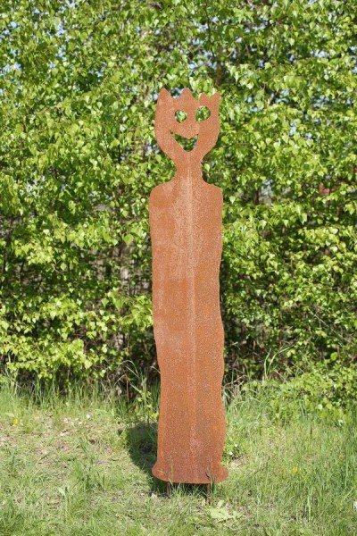 3 mm Stahlblech Skulptur plasmagetrennt