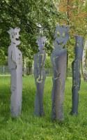 Plasmagetrennte Gartenskulpturen