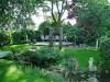 2 plasmagetrennte Gartenskulpturen bei unserem Kunden im Garten