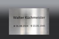 Gedentafeln für die Kriegsgräberstätte in Aukrug