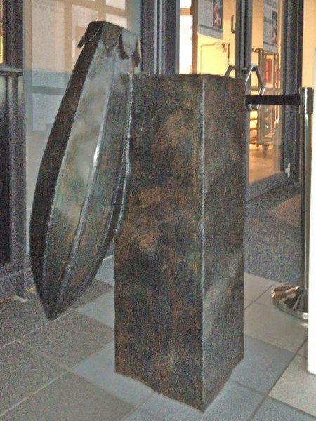 autogen geschweißtes Gefäß mit Sockel aus Stahl