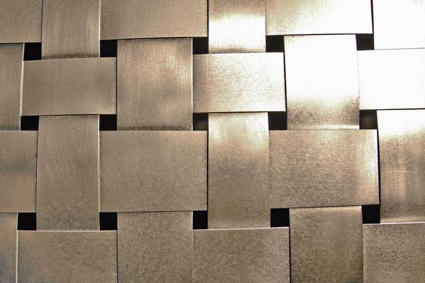 Wandhängendes Aluminiumgeflecht