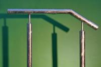 Handlauf aus Stahl feuerverzinkt