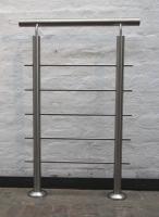 Reling Geländer aus Edelstahl, Edelstahlgeländer, Preis pro laufenden Meter
