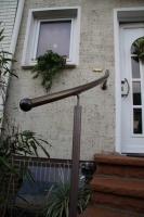 Treppenhandlauf aus Bronze