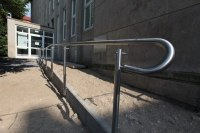 Geländer für Behinderten Rampen