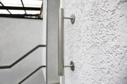 Edelstahl Treppenhandlauf mit einem Durchmesser von 42 mm