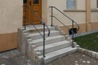 handgeschmiedetes Treppengeländer
