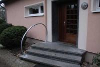 Treppengeländer, Stahl feuerverzinkt