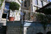 Balkongeländer für eine historische Villa
