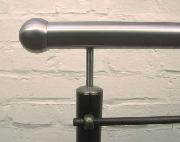 Geländermodell aus Stahl mit Edelstahl Handlauf