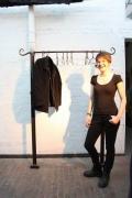 geschmiedete Garderobe aus Stahl