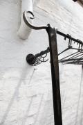 geschmiedete Garderobe aus Stahl - Detail