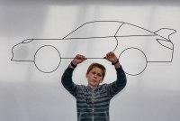 Porsche von Finn Kruse beim Zukunftstag 2016