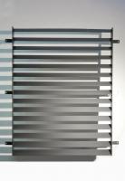 Lamellengitter aus lackiertem Stahl für den Innenbereich