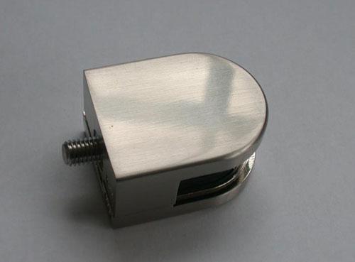 Glashalter und Glasklemmhalter in Edelstahloptik oder Edelstahl V4A