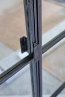 Standardtürgriffe für unsere Glastüren in Loft Optik