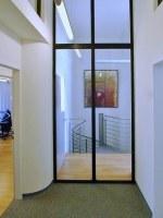 Glas Trennwand für eine Praxis
