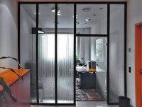 Glastrennwand für Verwaltungsgebäude