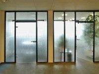 Glastrennwände Praxis Drs. Papcke/Uleer in Hildesheim