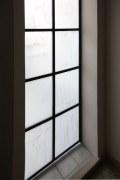Türe aus Stahl und Glas im Loft Look