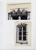 Fantastisch: Barockes Fenstergitter aus Stahl geschmiedet