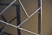 Cooler Einbruchschutz, Fenstergitter in typischer Schmitzstruktur