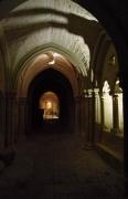 Probeleuchtung des Kreuzgang der Michaeliskirche in Hildesheim