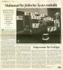 Bericht in der HAZ Hannover vom 13.11.08 über das Denkmal für die jüdischen Ärzte