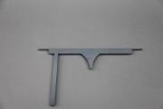 gelaserte Symbole aus der Hotellerie aus Stahl gelasert, Preis pro Stück