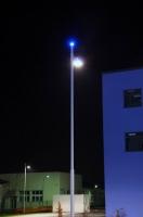 Beleuchtungsplanung mit Mastleuchten für das Innovationszentzrum in Haldensleben