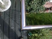 Edelstahlhandlauf für ein Treppengeländer / Brüstungsgeländer