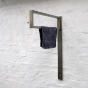 Handtuch Halter aus Edelstahl