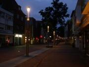 Beleuchtung der Hauptstraße in Nordhorn