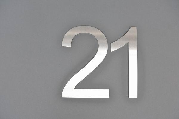 Edelstahlnummer 21