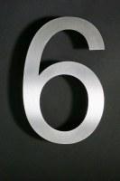 20 cm hohe Edelstahl Hausnummern