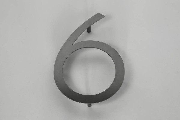 Die 6  ist aus 3 mm Edelstahlblech gelasert